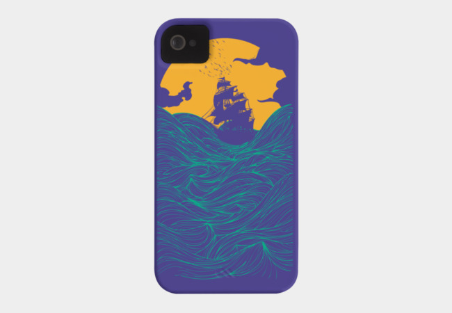 High seas Phone Case - Design By Humans