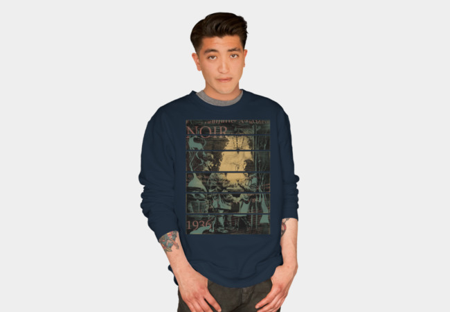 Noir 1936 Sweatshirt - Design By Humans