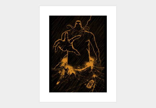 Cthulhu Rises Art Print - Design By Humans