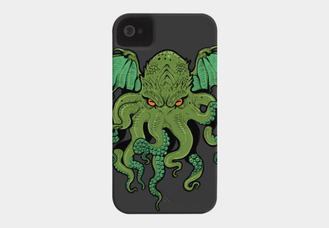 Cthulhu Lives Phone Case - Design By Humans