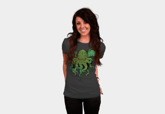 Cthulhu Lives T-Shirt - Design By Humans