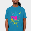 Strength wearing CMYK Bull by gloopz