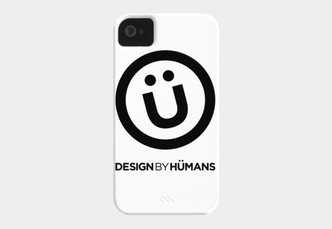 DBH Logo Tee Phone Case - Design By Humans