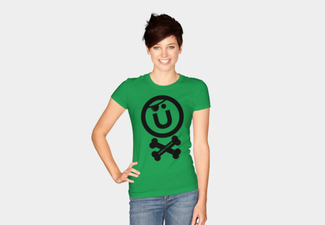 DBH Artist Series Pirate Logo T-Shirt - Design By Humans