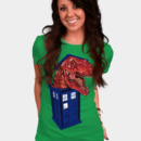 fxgk wearing Dinosaur in the TARDIS by zerobriant