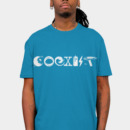 live2read wearing COEXIST - Let the Worlds of Nerdom Unite! by Captain_RibMan