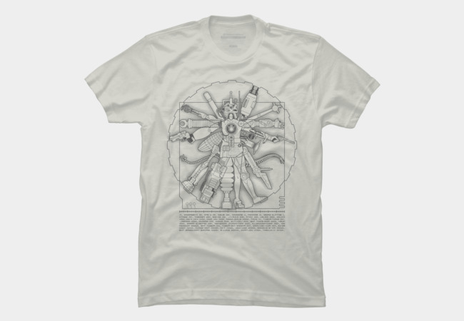 Vituvian Machine Men's T-Shirt