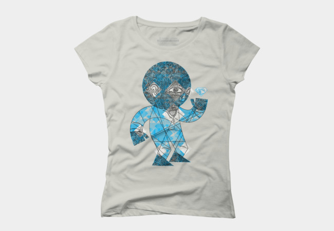 mesmerized by the light blue diamond Women's T-Shirt