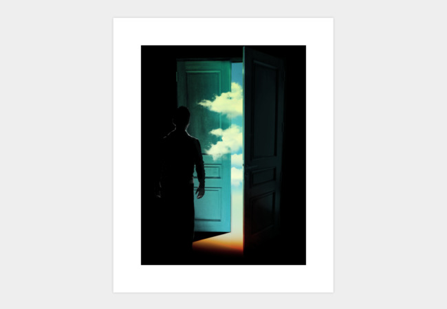 Door to the World Art Print - Design By Humans