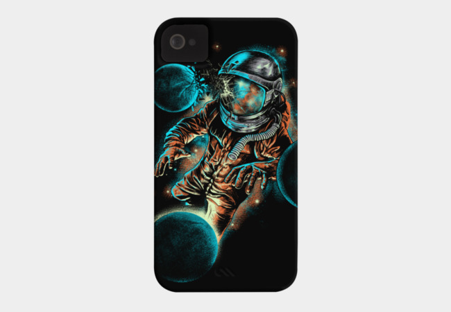 space impact Phone Case - Design By Humans