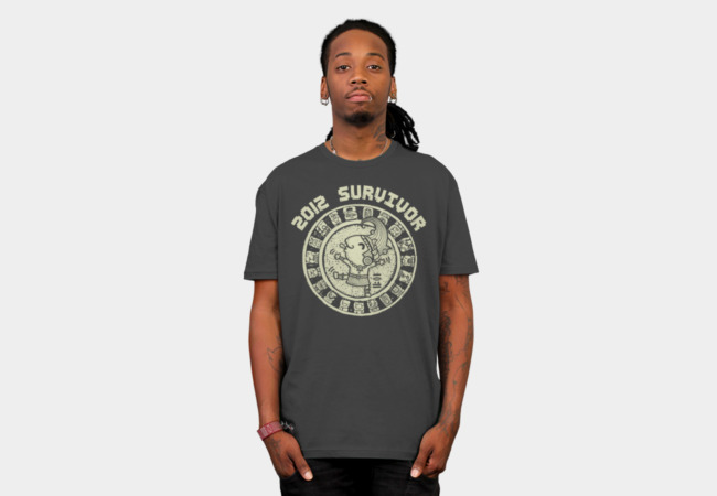 2012 Survivor T-Shirt - Design By Humans
