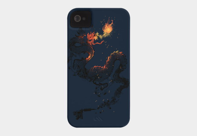 The Dragon Tattoo Phone Case - Design By Humans