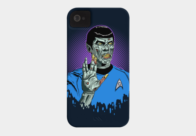 Live Long and Brains Phone Case - Design By Humans
