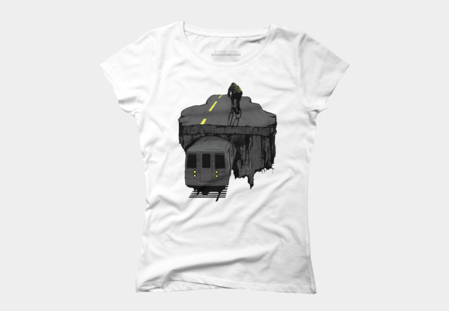 ride above Women's T-Shirt