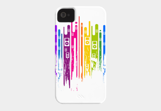 Color is Music Phone Case - Design By Humans