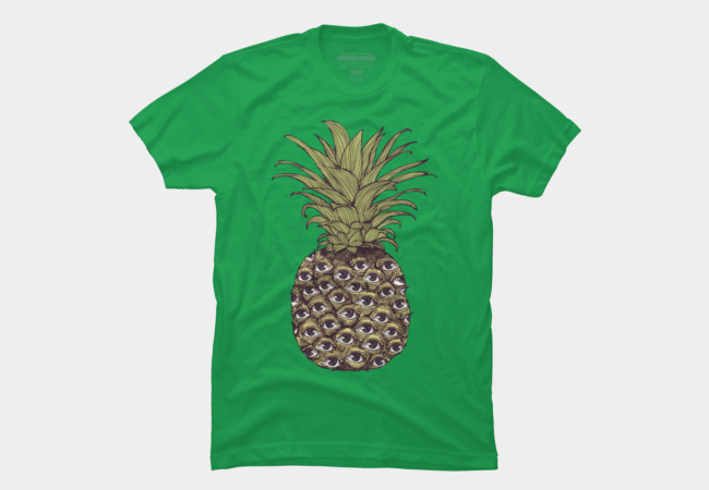 Pineapple Eyes Men's T-Shirt