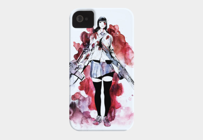 Demon Exterminator Jo Phone Case - Design By Humans