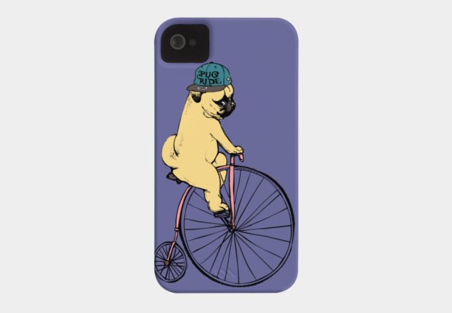 Pug Ride Phone Case - Design By Humans