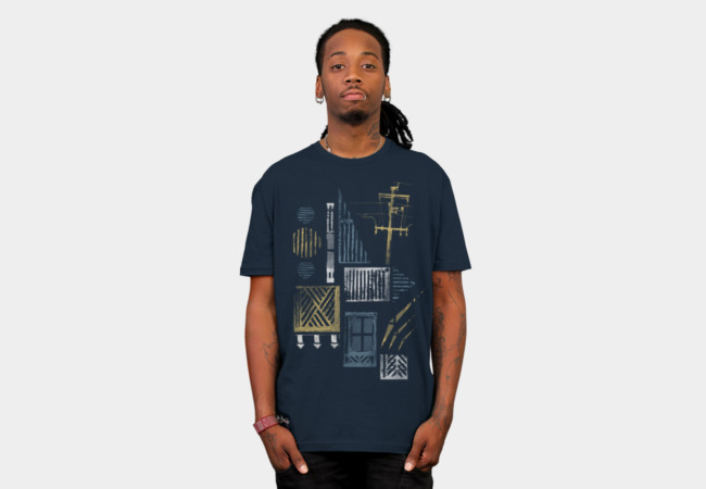 City Streets T-Shirt - Design By Humans