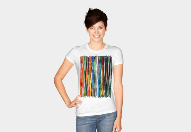 stripes T-Shirt - Design By Humans