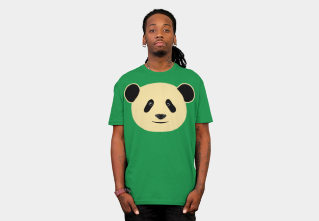 Cute Panda T-Shirt - Design By Humans
