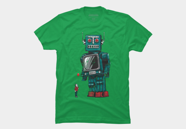 Childhood's Hero Men's T-Shirt