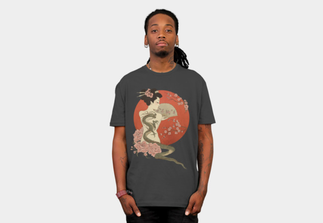 A Dragon's Tale T-Shirt - Design By Humans
