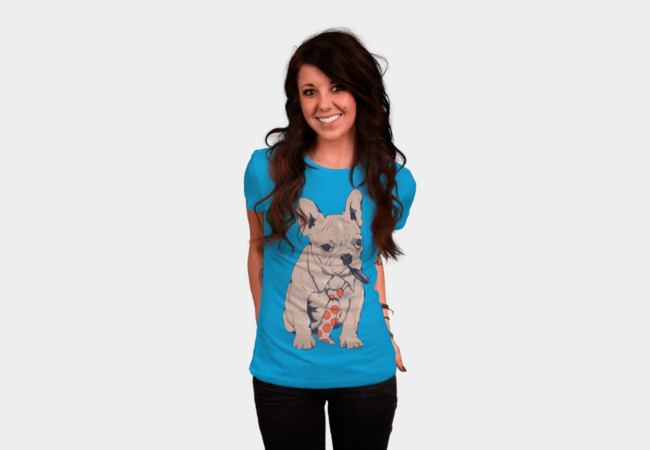 French Bulldog Boss T-Shirt - Design By Humans
