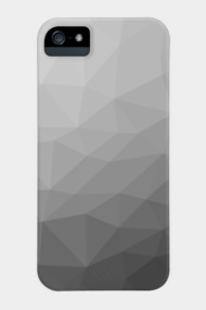 Grey Gradient Geometric Mesh