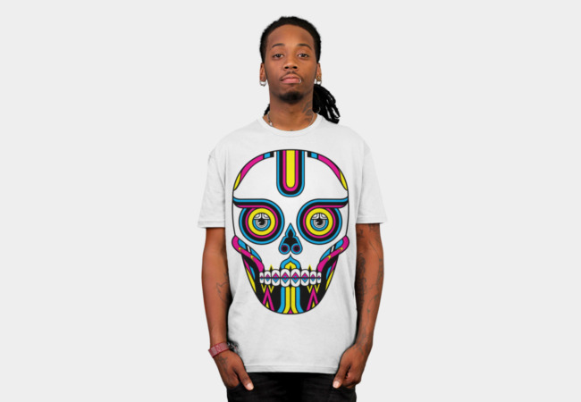 CMYsKull T-Shirt - Design By Humans