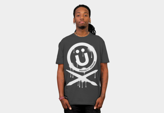 DBH Artist Series Splattered Logo T-Shirt - Design By Humans