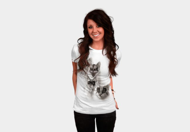 Black Metal Cats T-Shirt - Design By Humans