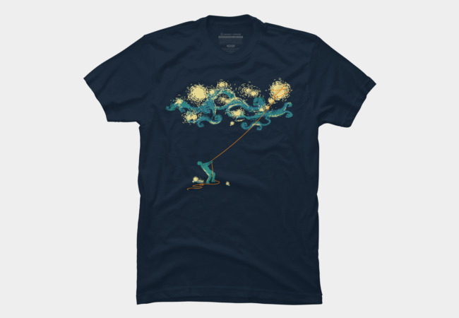 Catch the stars Men's T-Shirt