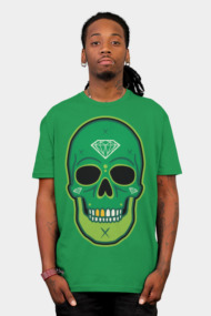 Skull Diamond Green