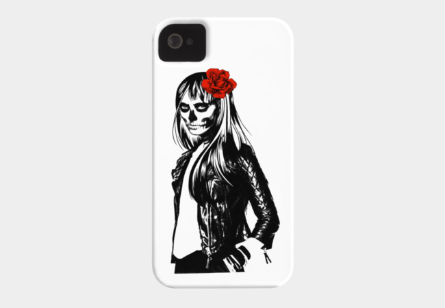 Fashion Death Phone Case - Design By Humans