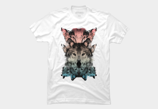 THE WOLF Men's T-Shirt