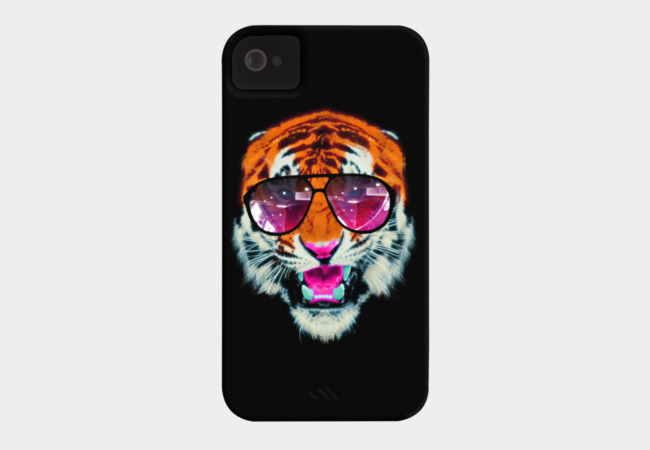 Wild Neon Phone Case - Design By Humans