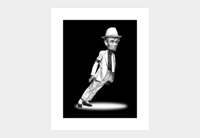 LINCOLN - SMOOTH CRIMINAL Art Print - Design By Humans