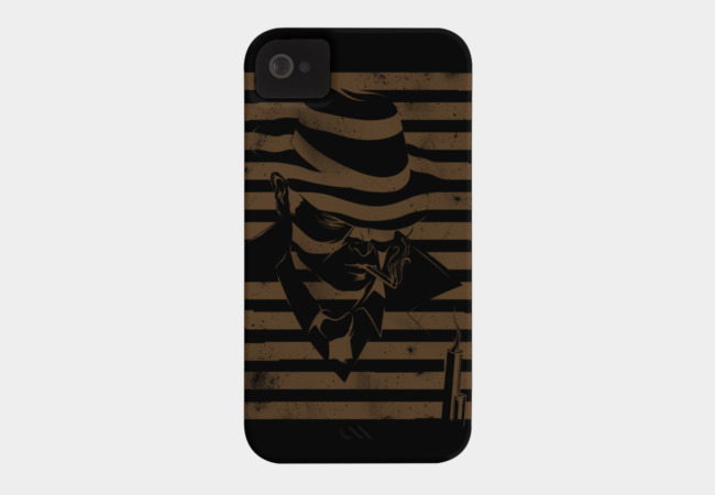 LOVE NOIR in black Phone Case - Design By Humans