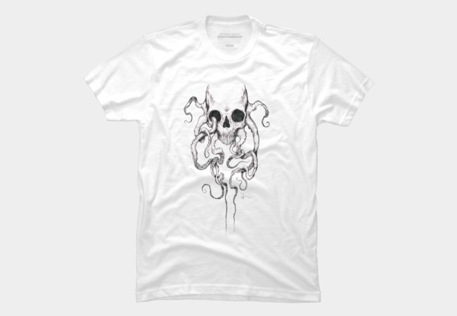 Squidskull Men's T-Shirt