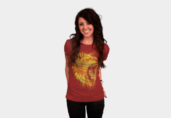 LION DRIP T-Shirt - Design By Humans