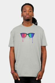 Love Wins! Rainbow - Spectrum (Pride) / Hipster Nerd Glasses