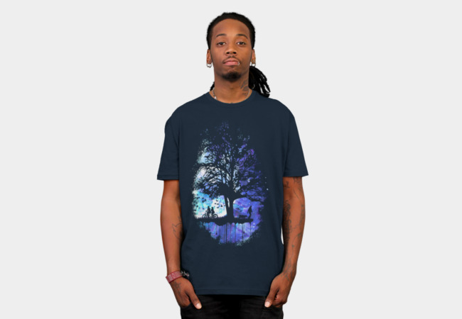 Cosmic Tree of Life T-Shirt - Design By Humans