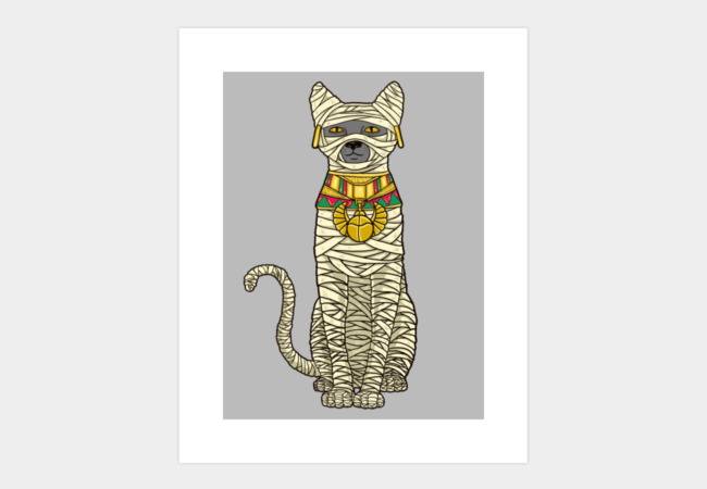 Ancient Cat Return Art Print - Design By Humans