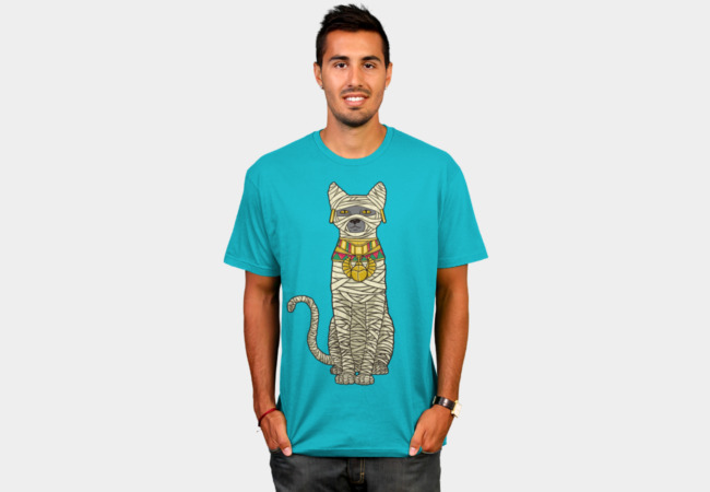 Ancient Cat Return T-Shirt - Design By Humans
