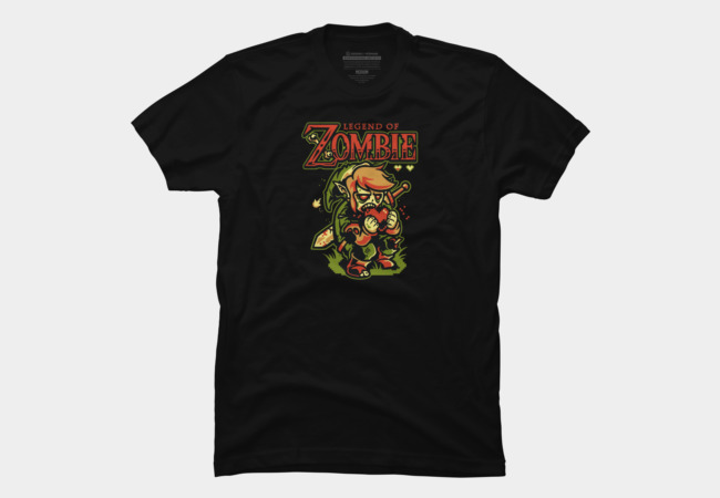Legend of Zombie Men's T-Shirt