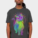 drperklax wearing Psychic psychedelic trippy cat by biotwist