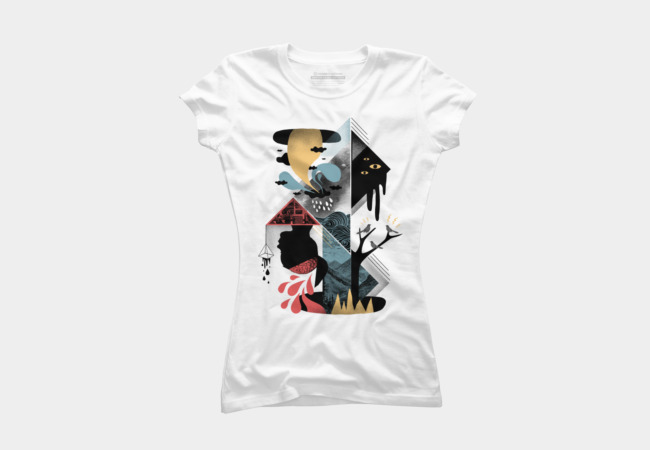Shapes and Nightmares Women's T-Shirt