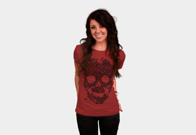 Panda Skull T-Shirt - Design By Humans