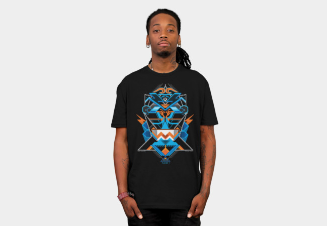 Pixel God T-Shirt - Design By Humans